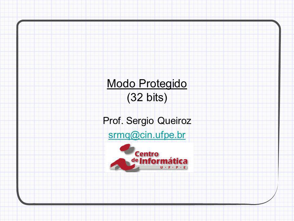 Prof. Sergio Queiroz srmq@cin.ufpe.br