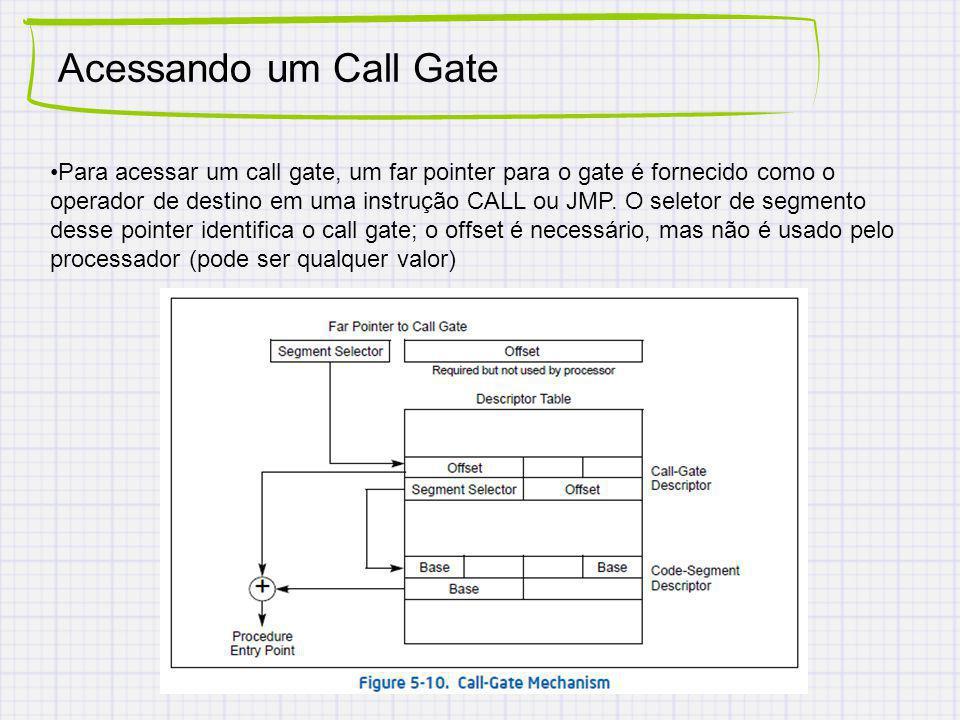 Acessando um Call Gate