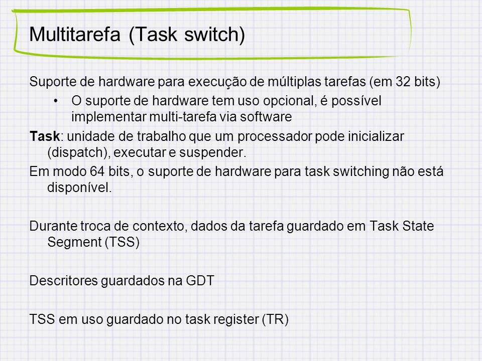 Multitarefa (Task switch)