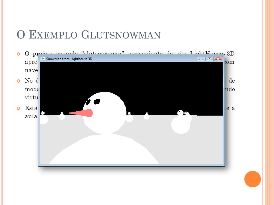 O Exemplo Glutsnowman