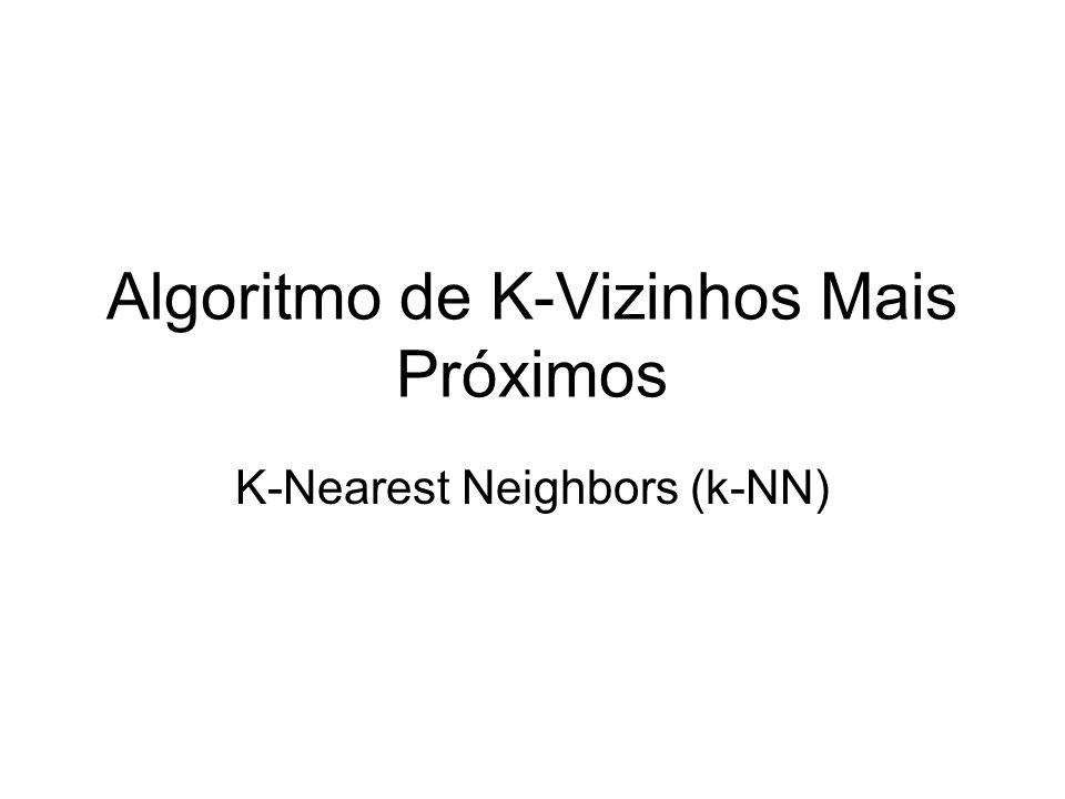 Algoritmo de K-Vizinhos Mais Próximos