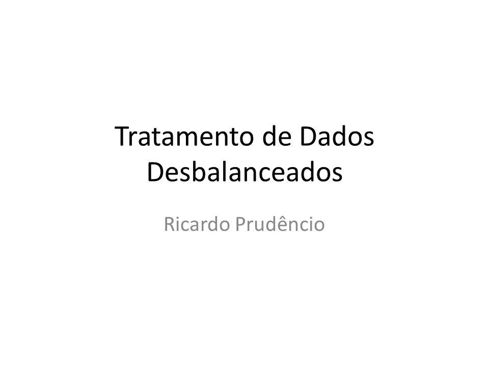Tratamento de Dados Desbalanceados