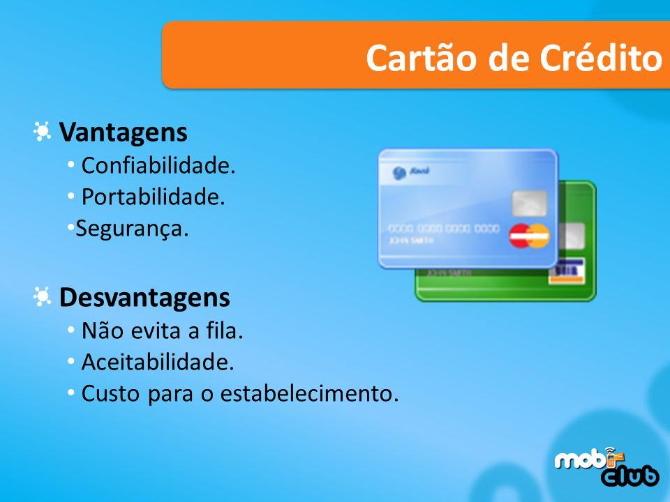 Cartão de Crédito Vantagens Desvantagens Confiabilidade.