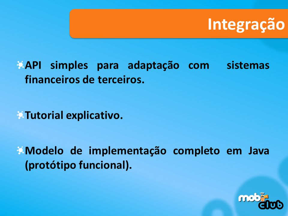 Integração API simples para adaptação com sistemas financeiros de terceiros. Tutorial explicativo.