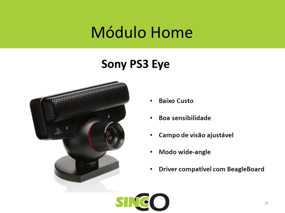 Módulo Home Sony PS3 Eye Baixo Custo Boa sensibilidade