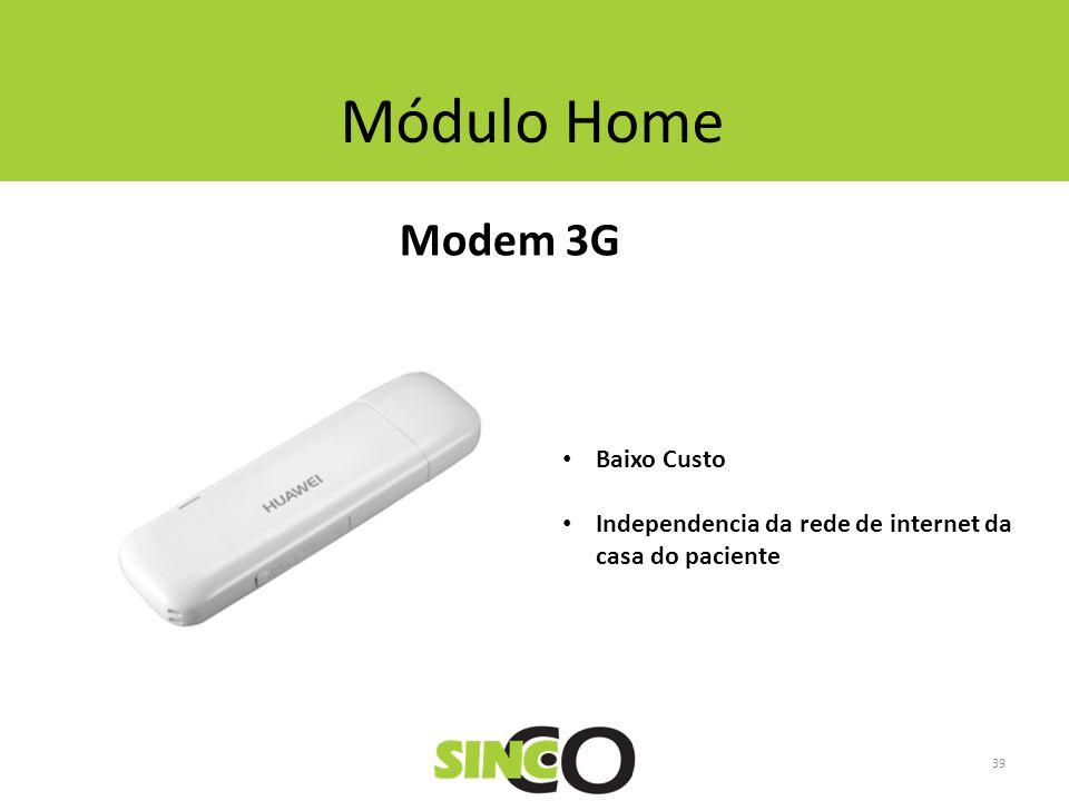 Módulo Home Modem 3G Baixo Custo