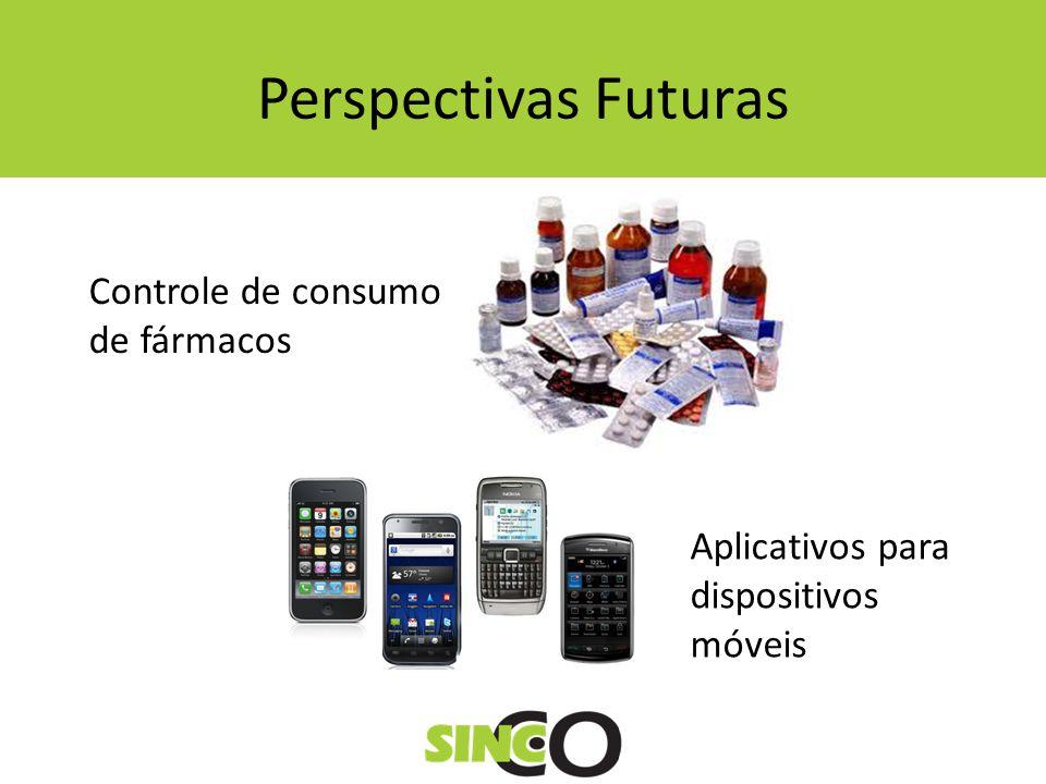 Perspectivas Futuras Controle de consumo de fármacos