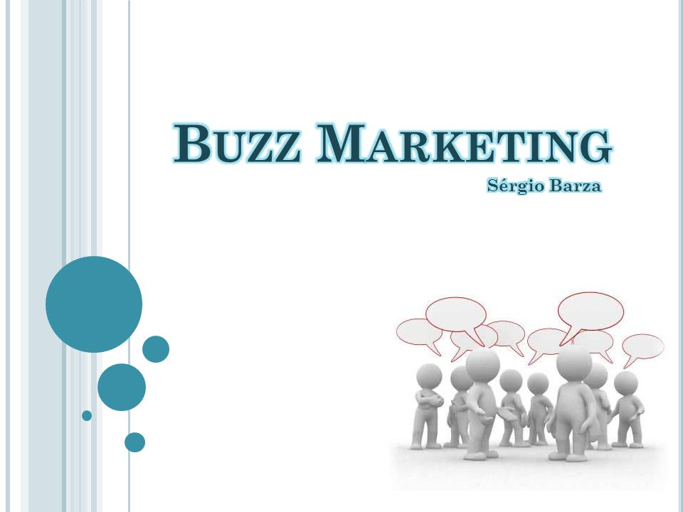 Buzz Marketing Sérgio Barza