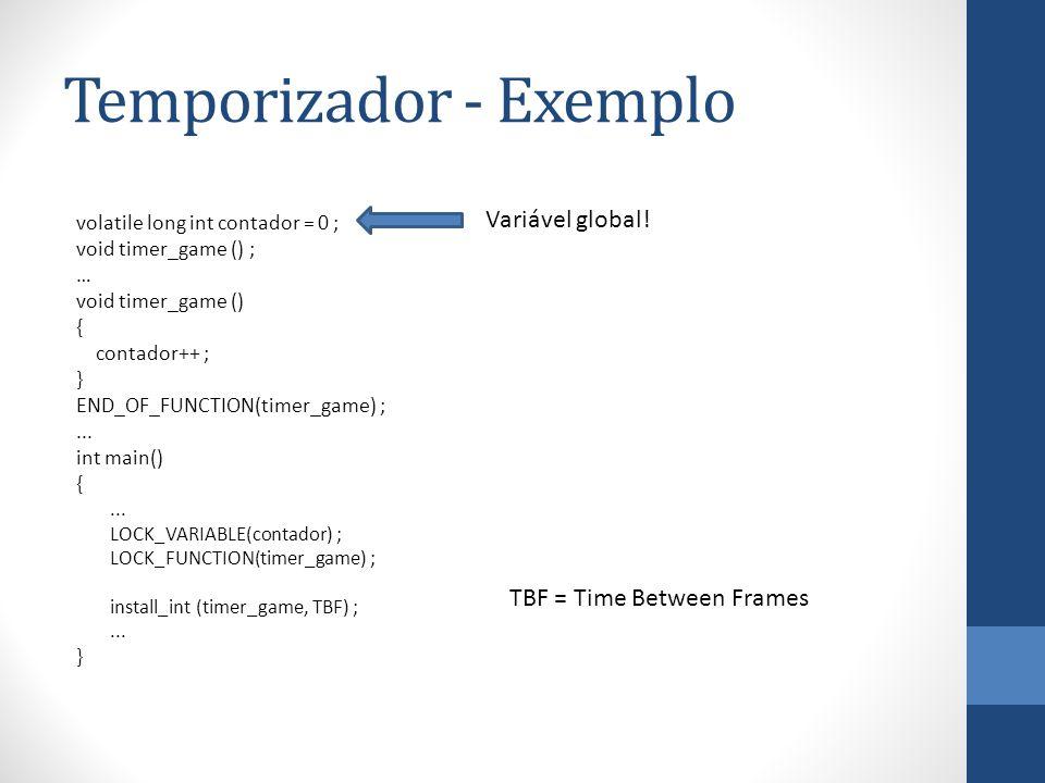 Temporizador - Exemplo