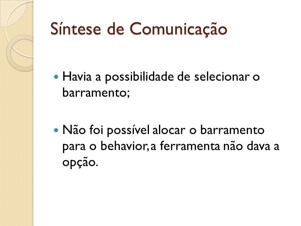 Síntese de Comunicação