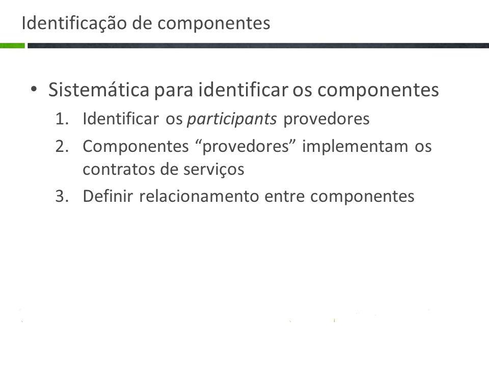 Identificação de componentes