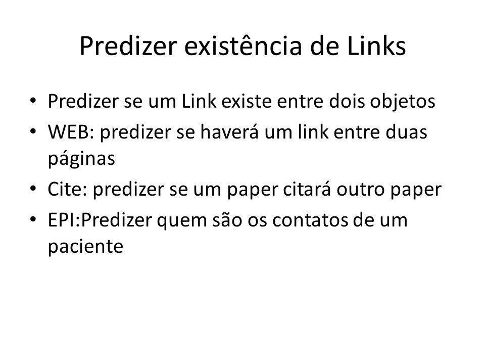 Predizer existência de Links