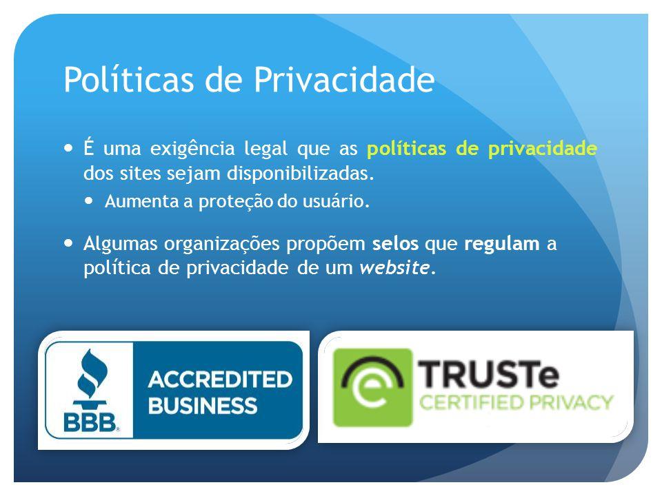 Políticas de Privacidade