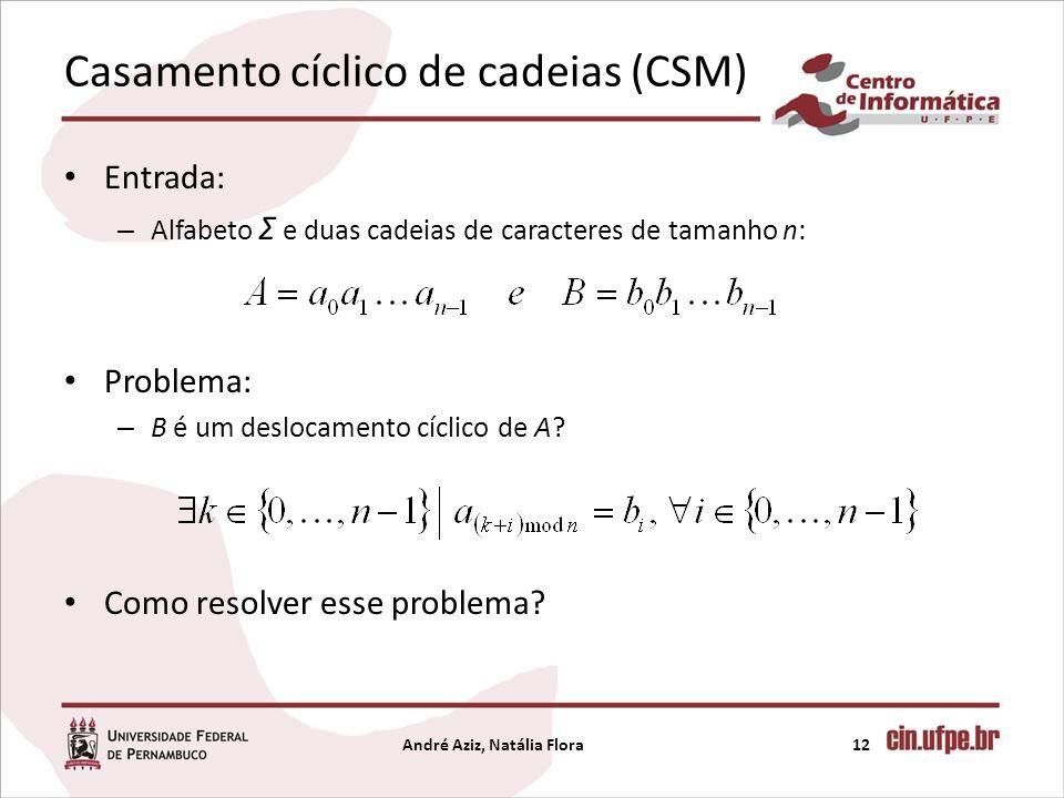Casamento cíclico de cadeias (CSM)
