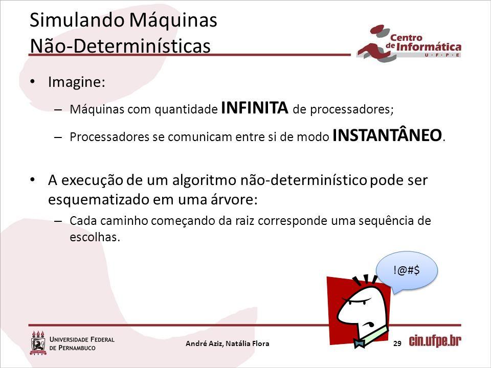 Simulando Máquinas Não-Determinísticas