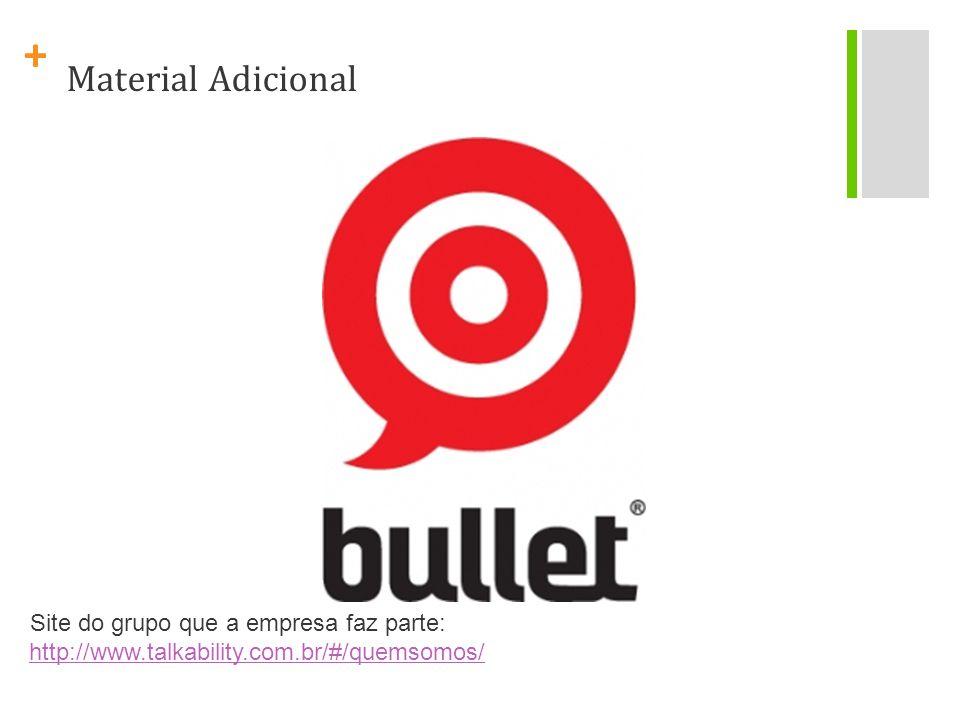 Material Adicional Site do grupo que a empresa faz parte:
