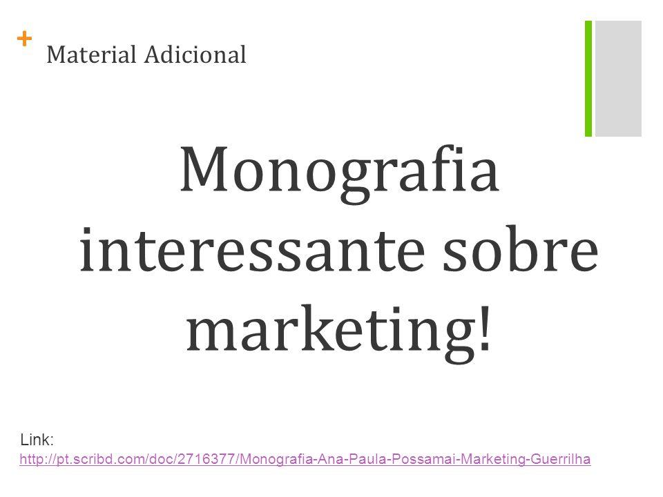 Monografia interessante sobre marketing!