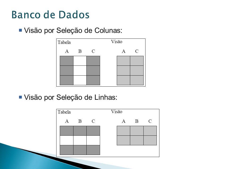 Banco de Dados Visão por Seleção de Colunas: