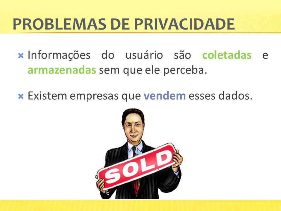 Problemas de privacidade