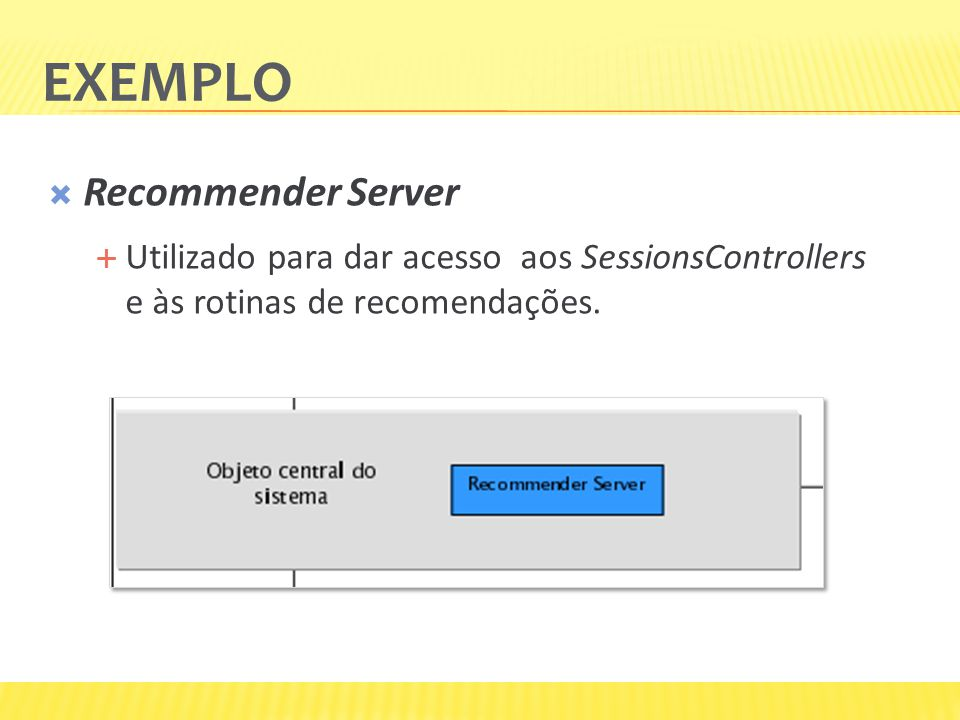 Exemplo Recommender Server