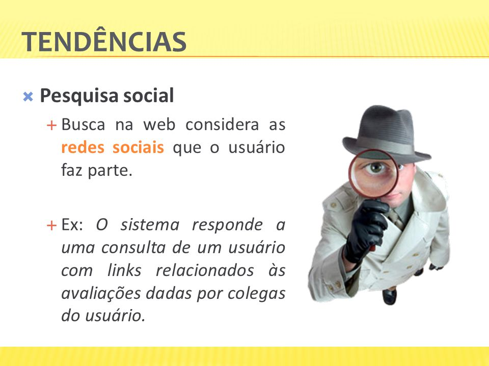 Tendências Pesquisa social