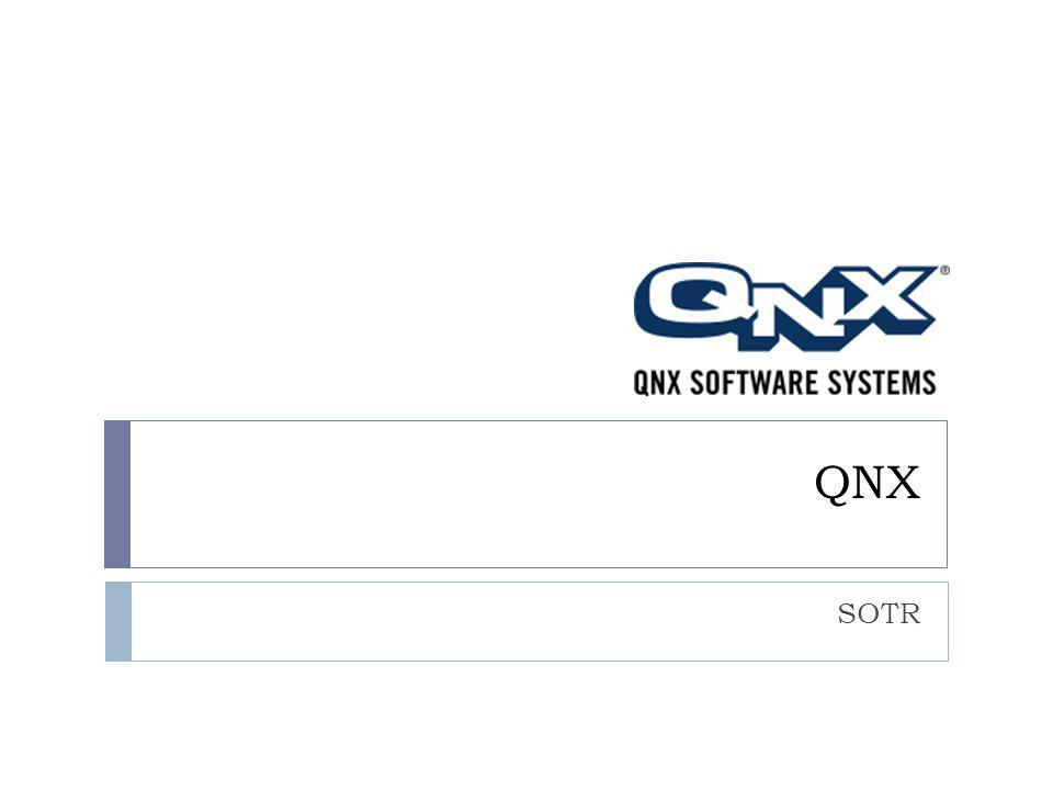 QNX SOTR