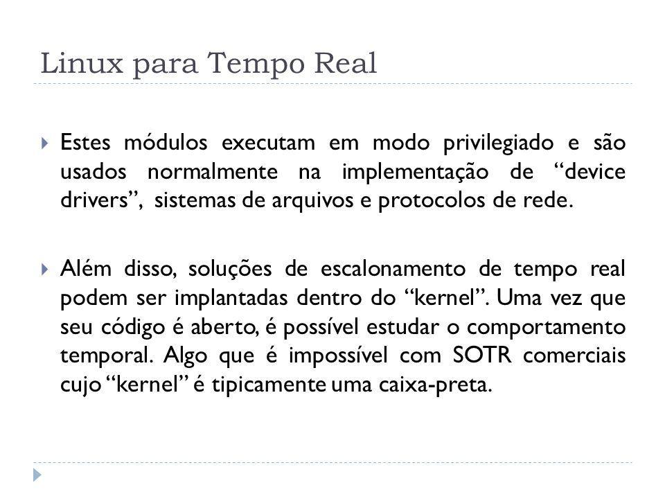 Linux para Tempo Real