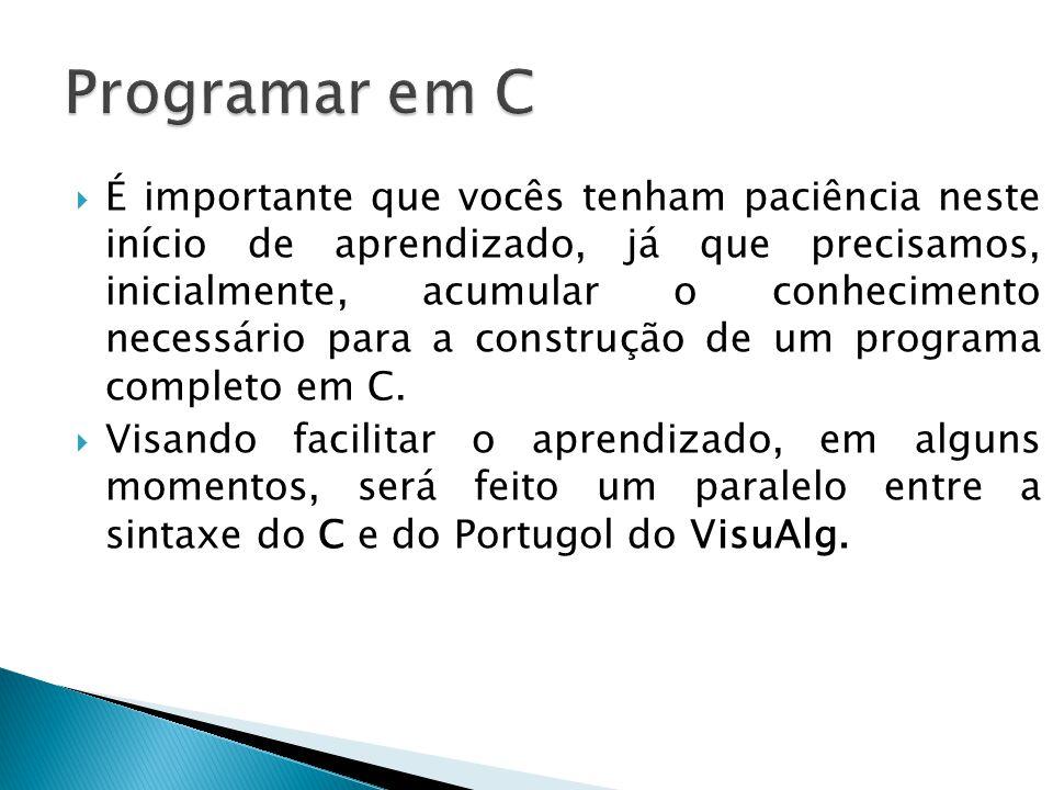 Programar em C
