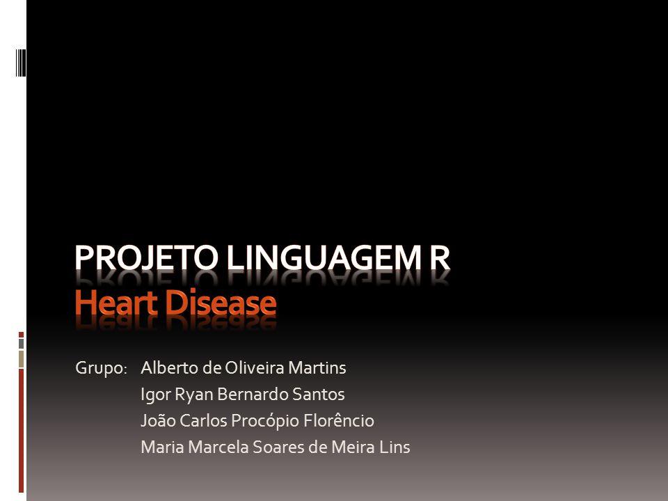 Projeto Linguagem R Heart Disease