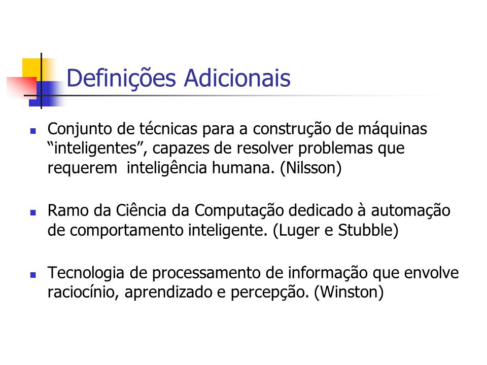 Definições Adicionais