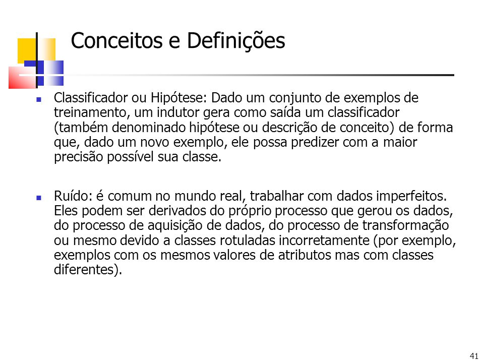 Conceitos e Definições