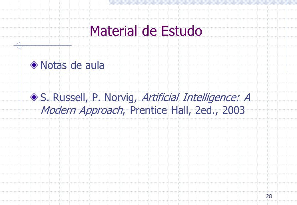 Material de Estudo Notas de aula