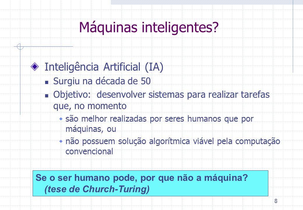 Máquinas inteligentes