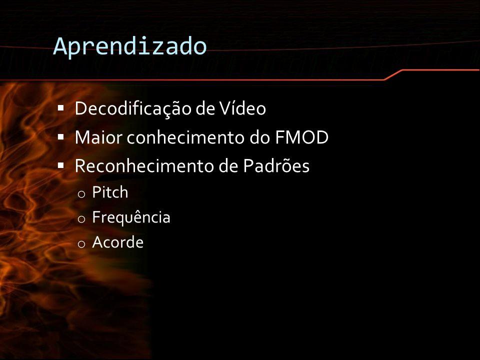Aprendizado Decodificação de Vídeo Maior conhecimento do FMOD