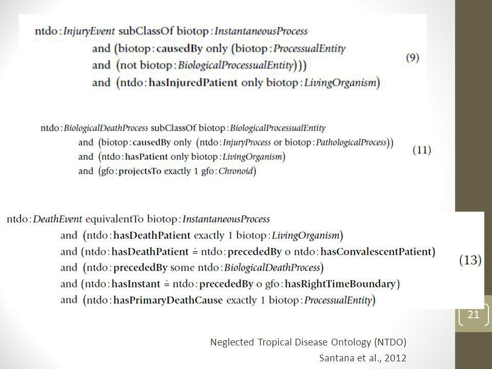 Neglected Tropical Disease Ontology (NTDO)