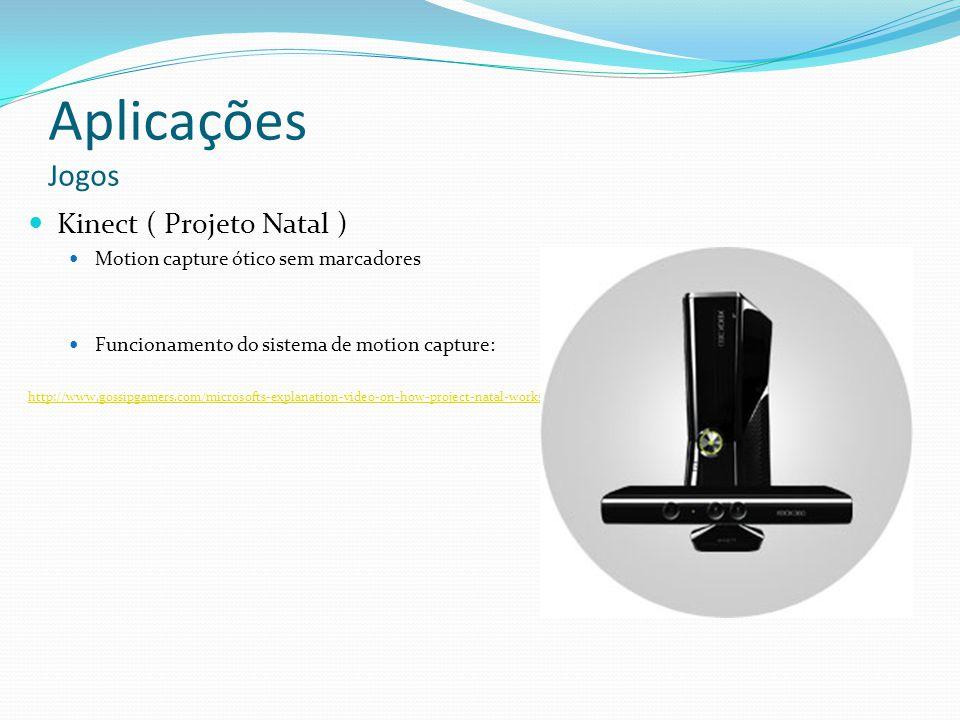 Aplicações Jogos Kinect ( Projeto Natal )