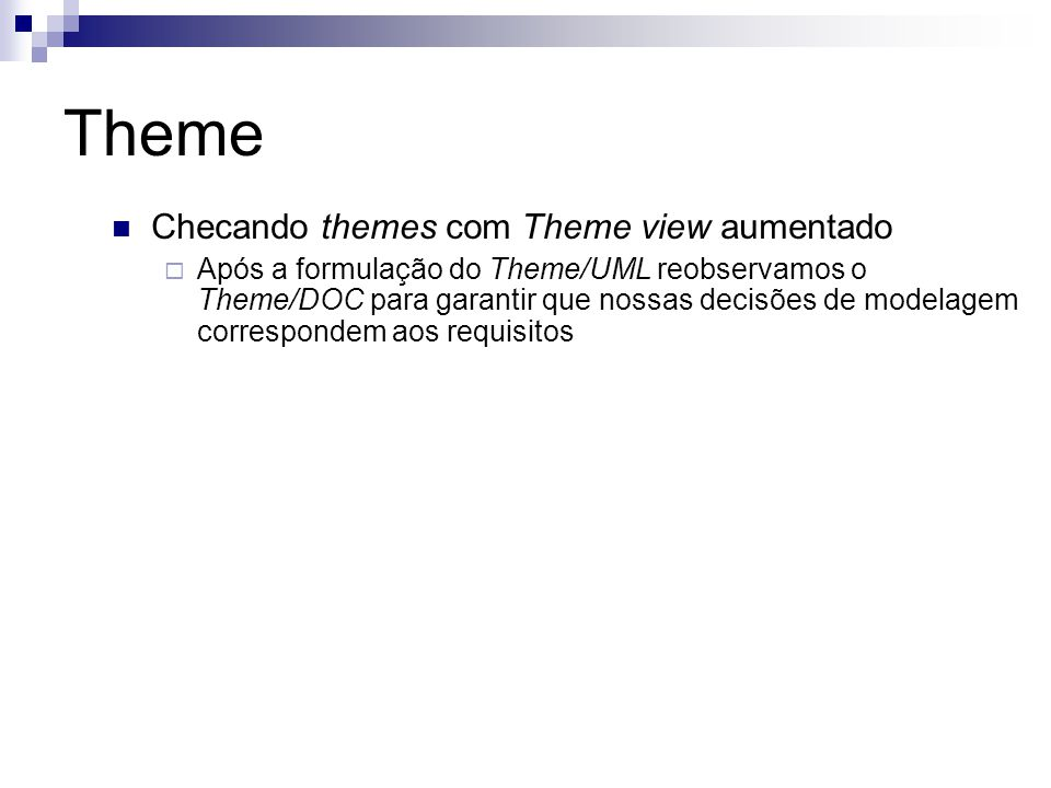 Theme Checando themes com Theme view aumentado