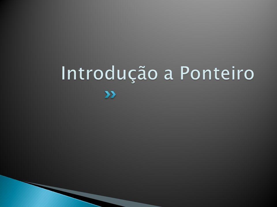 Introdução a Ponteiro