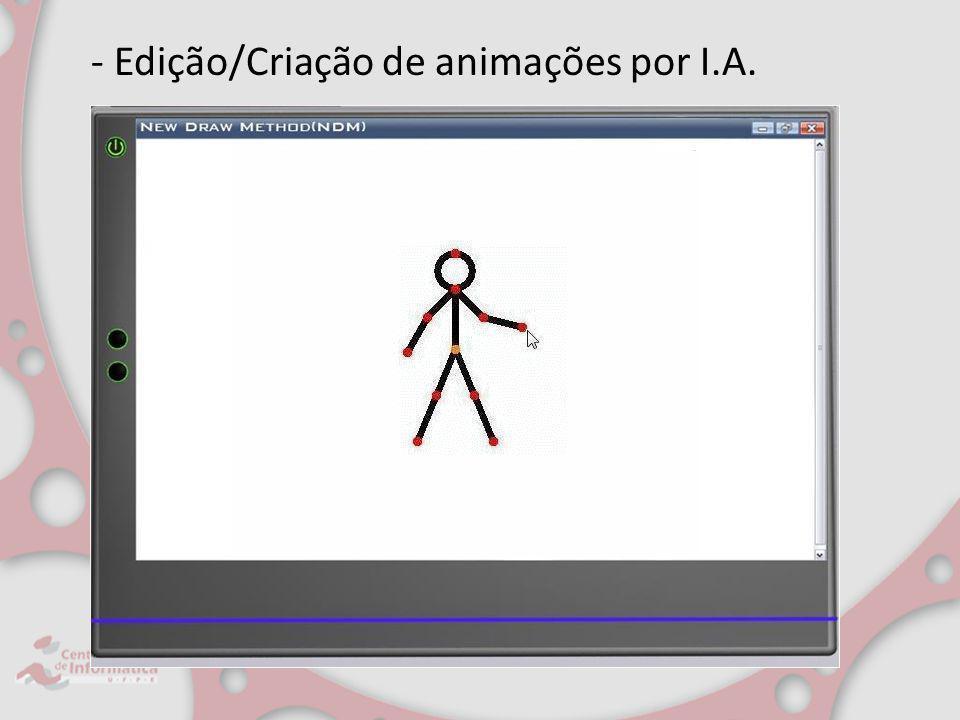 - Edição/Criação de animações por I.A.
