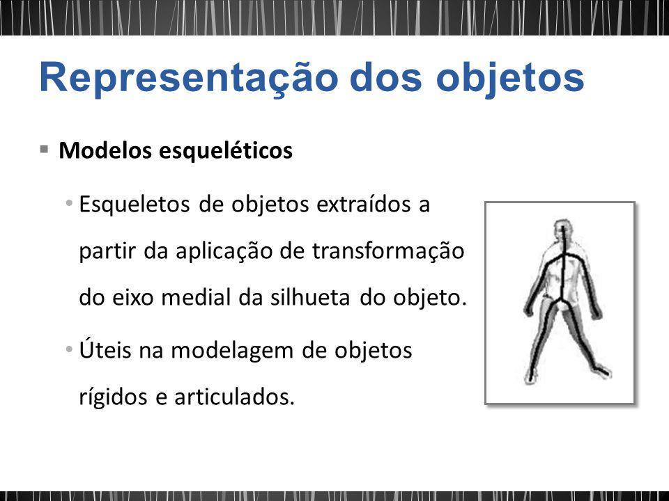 Representação dos objetos