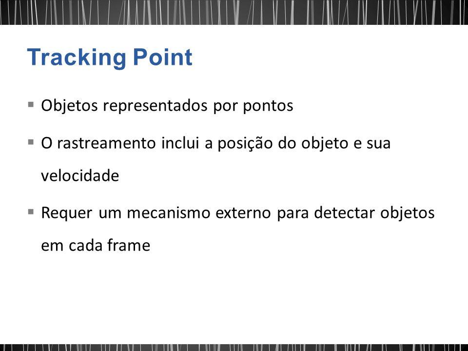 Tracking Point Objetos representados por pontos