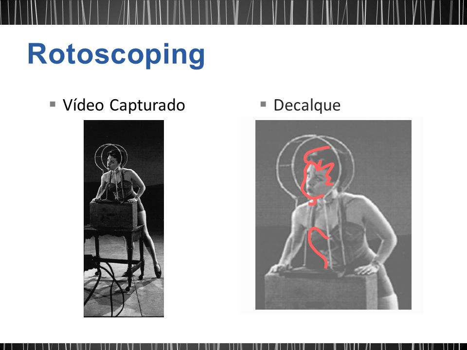 Rotoscoping Vídeo Capturado Decalque