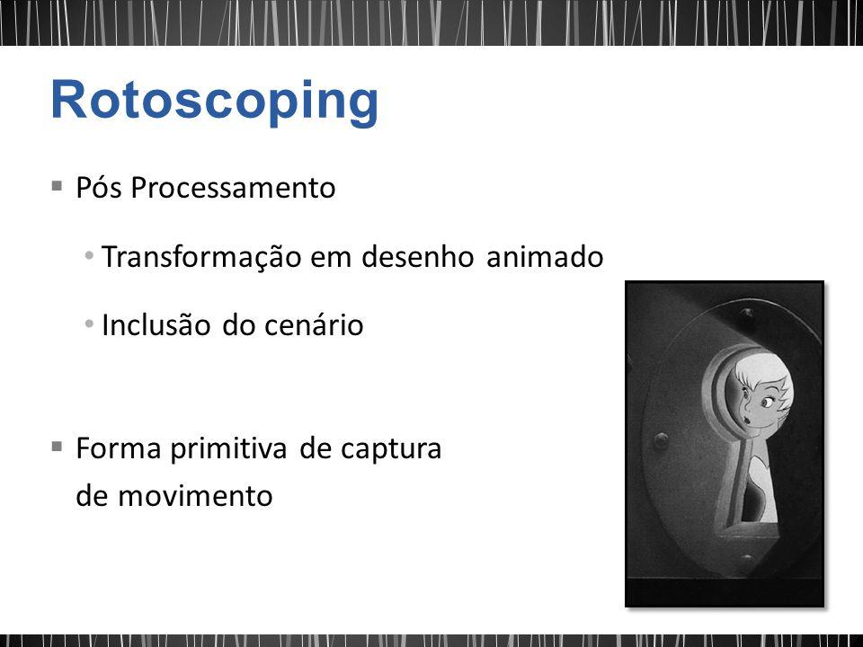 Rotoscoping Pós Processamento Transformação em desenho animado