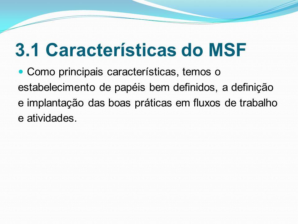 3.1 Características do MSF