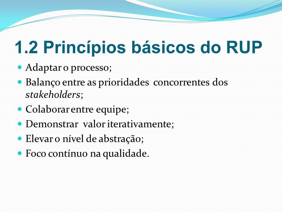 1.2 Princípios básicos do RUP