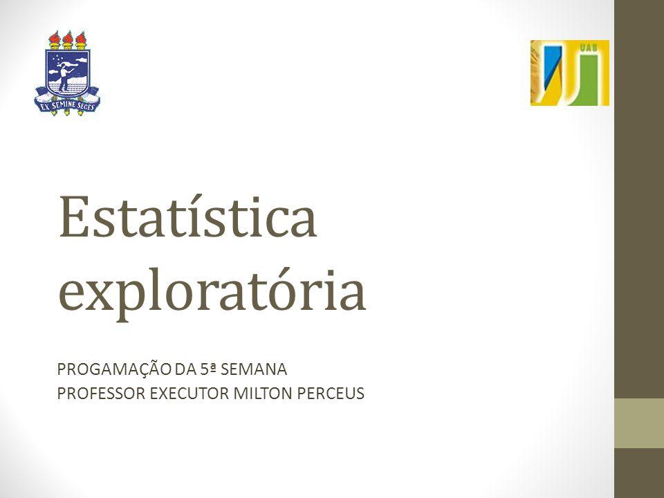 Estatística exploratória