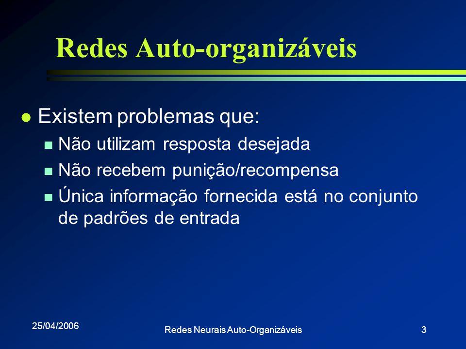 Redes Auto-organizáveis