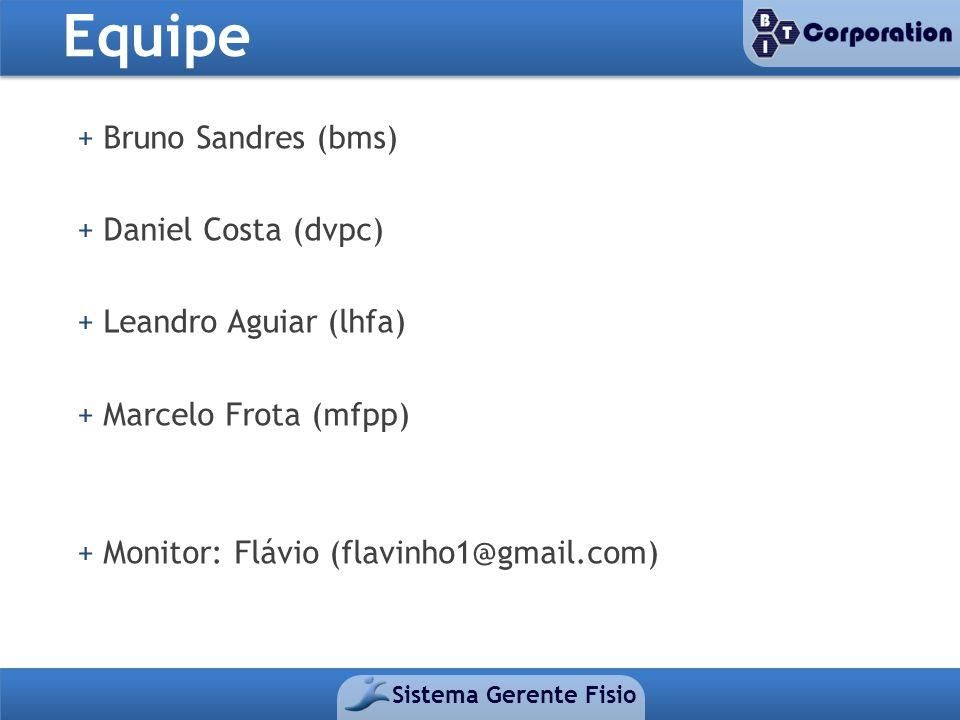 Equipe + Bruno Sandres (bms) + Daniel Costa (dvpc)