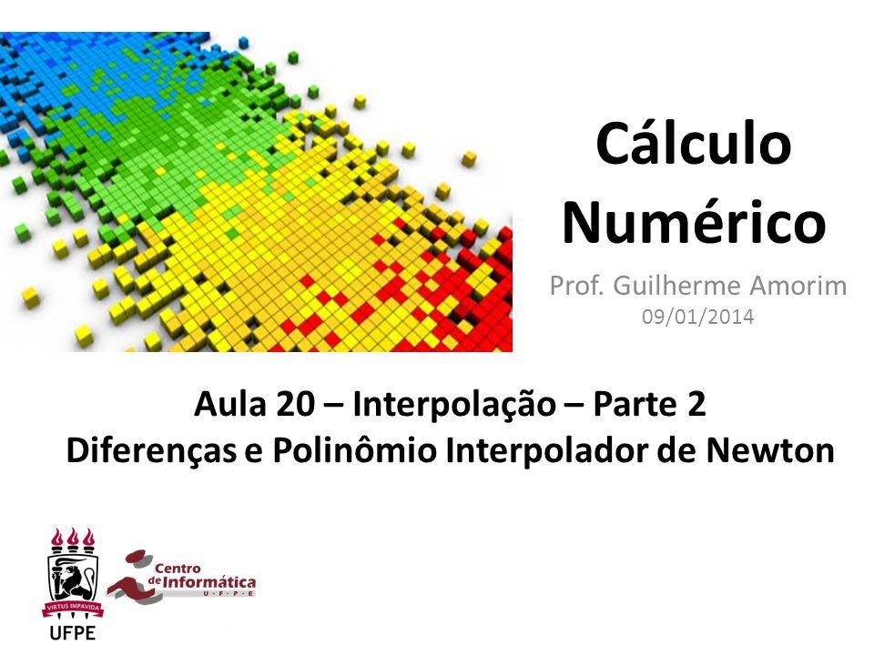Prof. Guilherme Amorim 09/01/2014