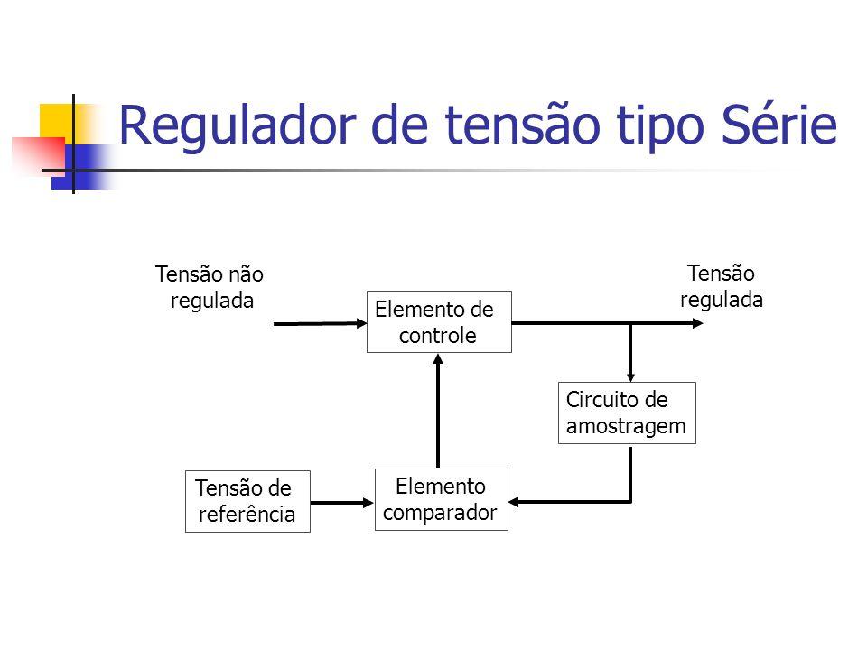 Regulador de tensão tipo Série